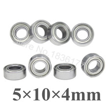 8pcs/set HSP 02139 Metal Shield Ball Bearing 5x10x4 mm Ceramic Metric Himoto 31044 Baja For RC Model Car Parts Heli Airplane