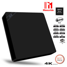 Mesuvida I68 S912 Set-top Box with Amlogic S912 Octa Core 1000Mbps LAN Dual Band WiFi BT4.0 Android 6.0 Media Player TV BOX(China)