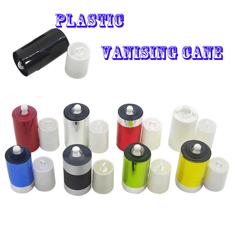 Plastic Flexible Wand Stick Classic Magic Appearing Cane Wand Magic Trick ha