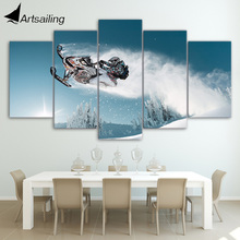 HD Printed ski doo ski doo freeride Painting on canvas room decoration print poster picture canvas Free shipping/ny-2606(China)