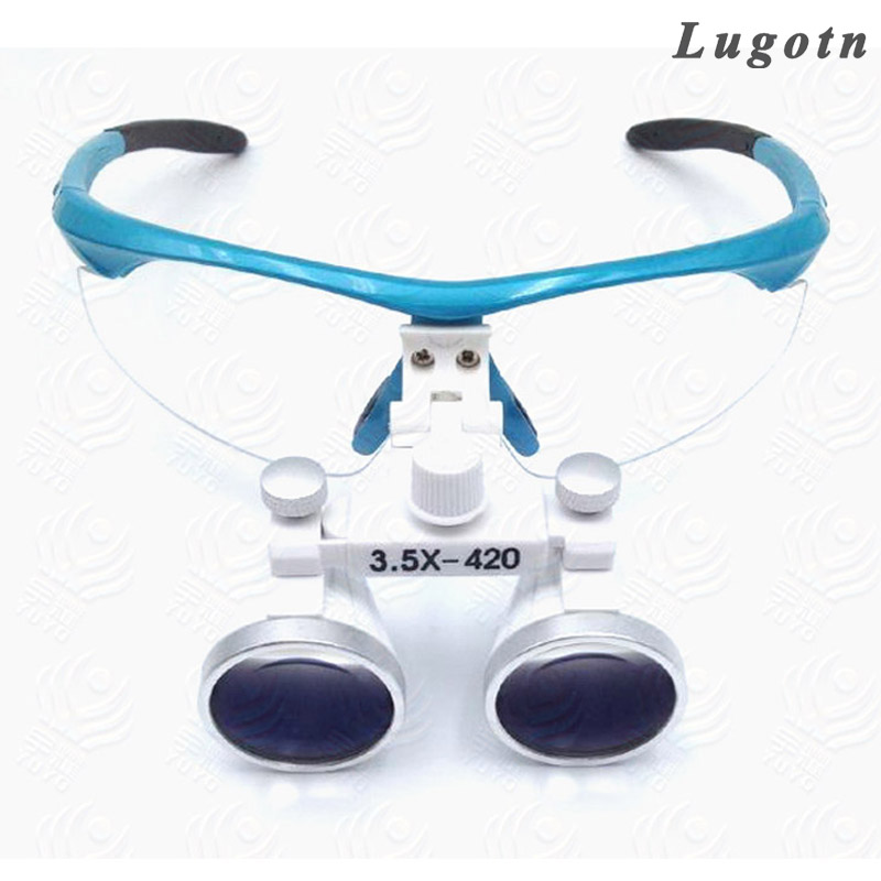 3.5X magnification surgical magnifier medical device antifogging glasses dental doctor surgery loupe<br>