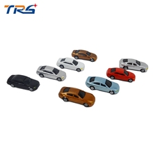 2017 new style 200pcs model car kits resin scale car model 1:200 plastic model car