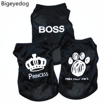 Cat Clothes Summer Dog Clothes for Small Dog Vest Pet Clothing Puppy T-shirt Chihuahua Chiwawa Costume Apparel Pet Outfit(China)