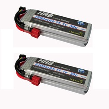 2pcs HRB Lipo RC Battery 11.1V 2200mah 30C For Trex-450 Fix-wing RC Helicopter RC boat quadcopter Airplane(China)