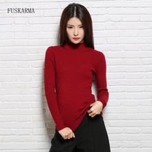 Sweater Women Pullovers Long Sleeve Wool Female Turtleneck Pullovers Kintted Brand Name Cashmere Women Sweaters and Pullovers(China)