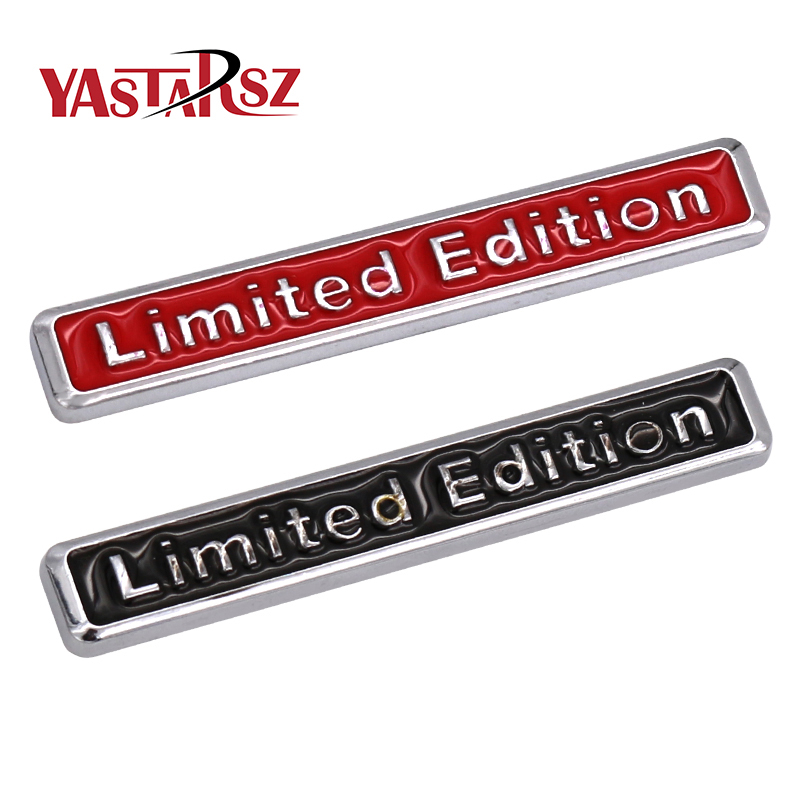 3D Metal Limited Edition Auto Car Sticker Badge Decal Motorcycle Stickers Chrome Emblem for Suzuki Honda Kawasaki HARLEY YAMAHA(China)