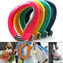 Bag Grips One Trip Grip Shopping Grocery Bag Kitchen Tool Gift Baskets Holder Handle Carrier Lock Labor Saving Tool(China)