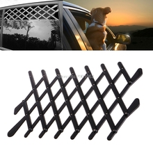 Universal Car Window Travel Vent Pet Dog Puppy Ventilation Grill Mesh Vent Guard Black Protective Fence Outdoor New #071021#(China)