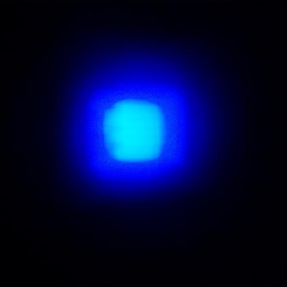 10w 12w 20w blue spot led work light Blue Spot Safety Warning Led Spotlight Forklift Truck Lamp Warehouse Safe Work Light 10v-80v Wide Voltage Focused Offroad Driving Lamp led light bar fork lift (8)