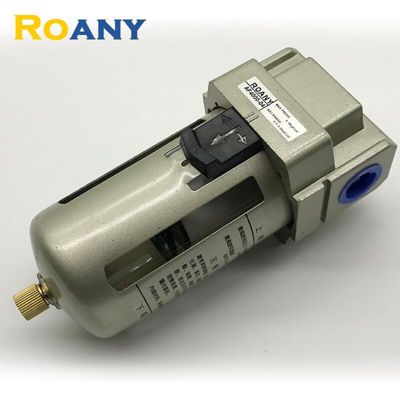 Roany AF2000-02/AF3000-03/AF4000-04 1/4 3/8 1/2 Port Air Filter Regulator Combination Lubricator <br>