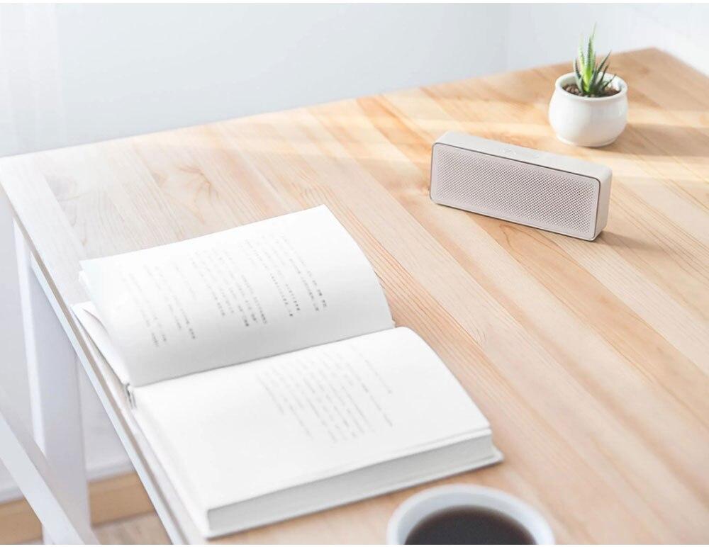 Original Xiaomi Mi Bluetooth Speaker 2 Square Box Stereo Portable Bluetooth 4.2 High Definition Sound Quality 10h Play Music AUX Port (16)