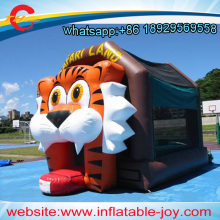 free air shipping to door,4x3m inflatable jumper,bounce house for kids party,TIGER inflatable bouncer,