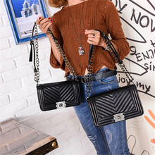 Taliayh Luxury Handbags Women Bags Designer Messenger Bags 2017 Winter Vintage Fashion V Small Chain Crossbody Bags For Women(China)