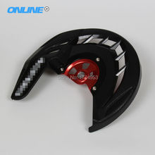 15mm hub CRF X-Brake Front Brake Disc Rotor Guard Cover Protector Protection Fit CR CRF CR125 CR250  CRF250L free shipping