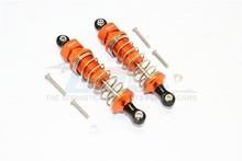 GPM THUNDER TIGER KAISER XS ALLOY FRONT/REAR ADJUSTABLE DAMPER (75MM) WITH PLASTIC BALL TOP - 1PAIR KXS075F/R
