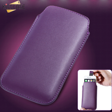 KISSCASE 5.5 inch Universal Phone Bag Case For Huawei P10 Plus PU Leather Cases For Xiaomi Mi4 MI5 MI6 Business Vintage Pouch