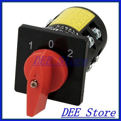 Rotary Cam Universal Changeover Switch 3KW AC 380V 10A<br><br>Aliexpress