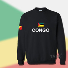 Congo Republic hoodie men sweatshirt sweat new hip hop streetwear tracksuit nation footballer sporting country COG Congolese