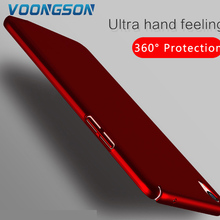 VOONGSON Luxury Hard Back Plastic Matte For OPPO R9 Case Cover PC Cell Phone Cases Full Protective Magical Nano Sticky