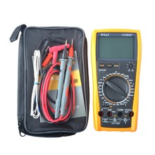 VICI VICHY VC9808+ 3 1/2 Digital multimeter Electrical Meter Inductance Res Cap Freq Temp AC/DC Ohmmeter Inductance Tester