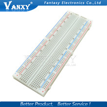 Breadboard 830 Point Solderless PCB Bread Board MB-102 MB102 Test Develop DIY Free shipping(China)