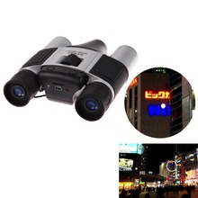 5Pcs/Lot, DHL Free DT08 Cheap Gift Binocular Digital Camera Telescopic Video Camera 1.3MP Sensor AA Battery Support 32GB TF Card