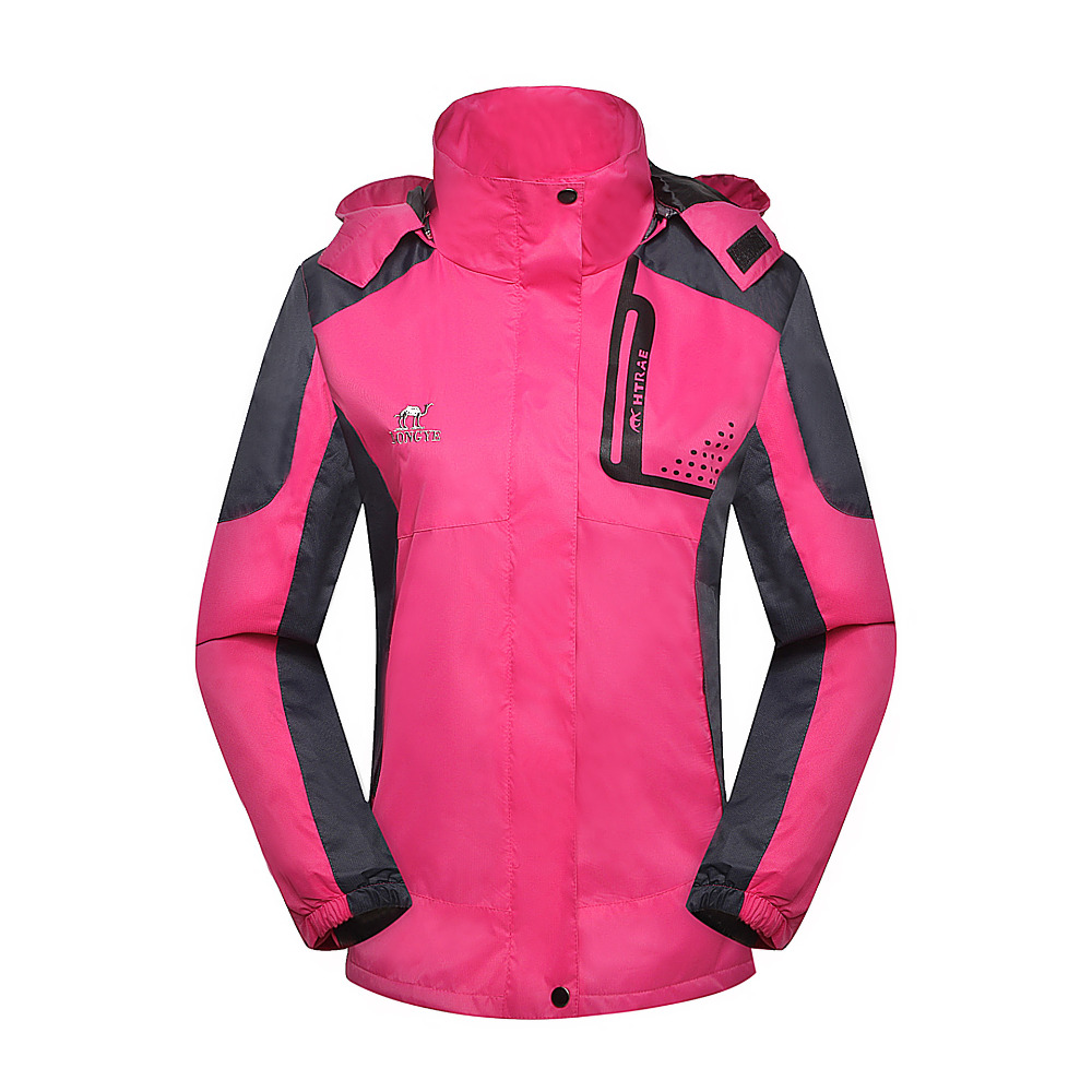 Outdoor Jacket Women Waterproof Softshell Jacket Windproof Breathable Hiking Jackets For Sport Camping Rain Hoodies Online <br><br>Aliexpress