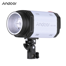 Andoer MD-300 300WS GN58 Studio Photo Strobe Flash Photography Light with 50W Modeling Lamp(China)