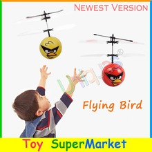 Flying Bird Drone UFO RC Remote Control Helicopter Quadcopter Hand Sense Flying Ball Fairy 2017 New Electronic Toys