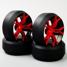 Cheap New 3 Degree 12 mm Hex RC Drift Tires & Wheel Rim Fit HSP HPI 1:10 On-Road Car KF/MPNKR+PP0367 A