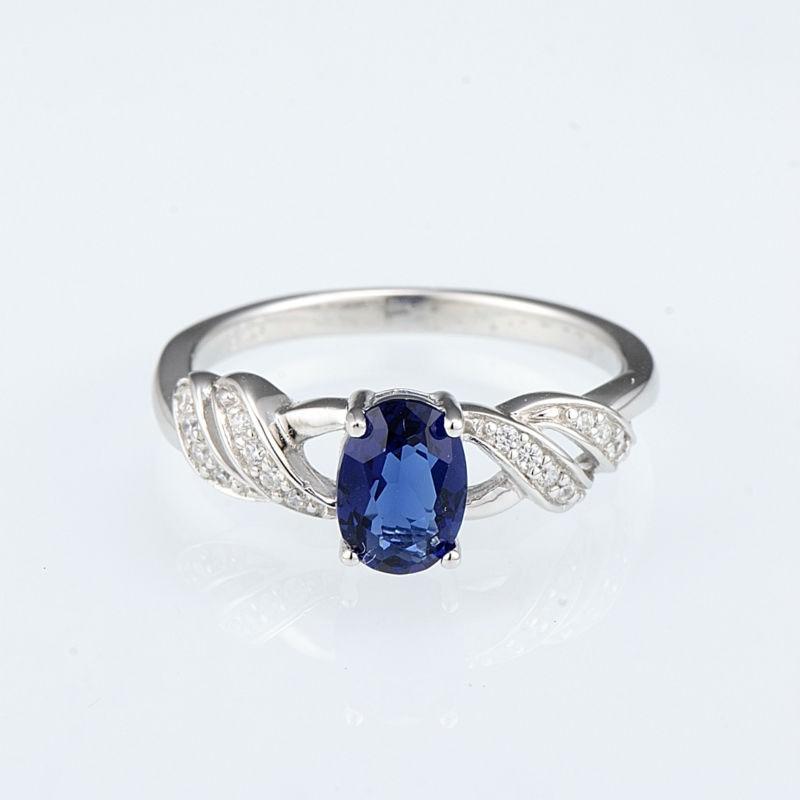R303165BLGZSL925-SV1-Silver Ring