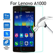 For Lenovo A1000 Tempered glass Cover 4.0 inch Screen Protector Glass For Lenovo A1000 A 1000 A2800 phone protective film Case(China)