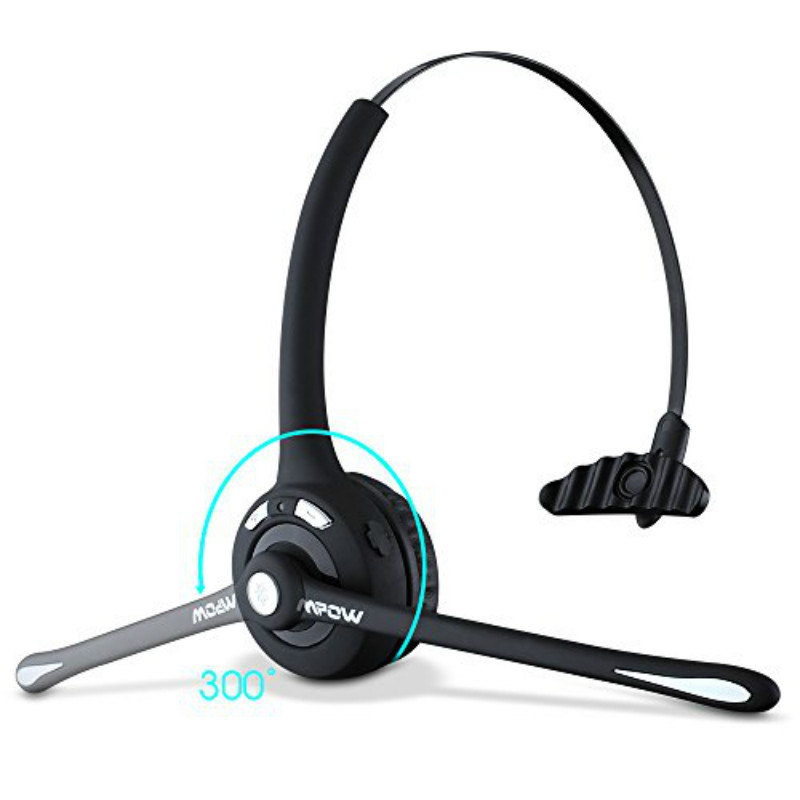 TTLIFE Over-the-Head Boom MIC Microphone Foldable Stereo Bluetooth Headset Wireless Hands-free Headphone Noise Canceling<br><br>Aliexpress