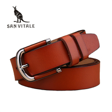 Mens Belts Cowskin Genuine Leather Belts for Men Jeans Pin Buckle Vintage Handcrafted Luxury Belt Men Waistband Ceinture Homme(China)