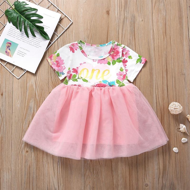 Toddler Girls Leopard Print Denim Dress Baby Princess Skirt Clothes 1-5 Years