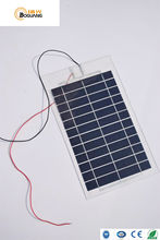 Boguang 2pcs 6W 6V PET laminated solar panel Polycrystalline Silicon for light DIY toys battery charger(China)