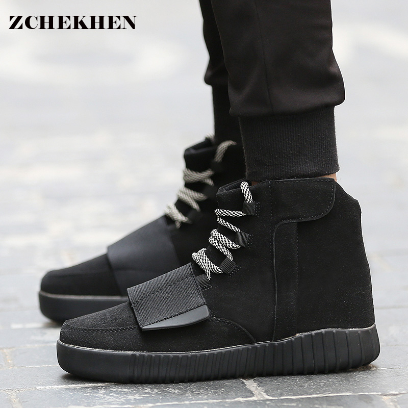 2017 Fashion spring Tactical kanye Star Boots unisex Shoes Platform  hip hop Shoes Lace Up Ankle Boots For West military boots<br>