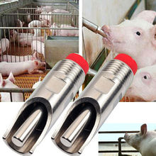 7cm Pig Thicken Stainless steel Automatic Nipple Drinking Animals Drinking Instrument Waterer Feeder Farm Equipment(China)