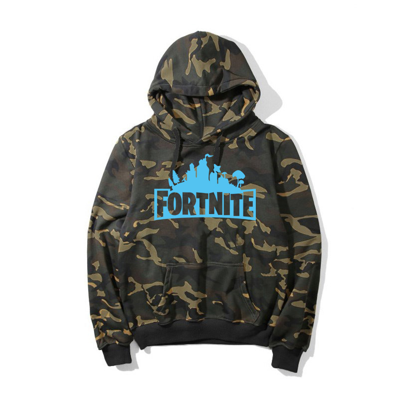 Camouflage Hoodie Acheter Fortnite À Casual Manches Capuche 4SBFB
