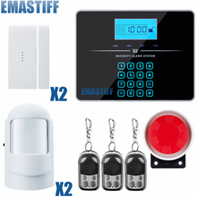 Buy Free Shipping!102 zone 99 wireless zone 3 wired Quad-Band LCD home security PSTN GSM alarm system 850/900/1800/1900MHZ for $70.30 in AliExpress store