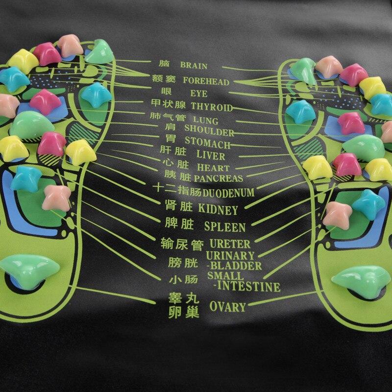 Hot sale Reflexology Walk Stone Foot Leg Massager Mat Health Care Acupressure Large Free shipping F#OS<br><br>Aliexpress