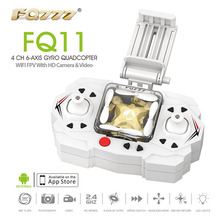 Wholesale FQ777 FQ11 Wifi FPV With Foldable Arm 3D Mini 2.4G 4CH 6Axis Headless Mode One Key Return RC Quadcopter Helicopter RTF