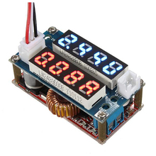 Buy 5-30V 5A Constant Current/Voltage LED Driver Charging Module Voltmeter Ammeter Color:Red & Blue for $4.96 in AliExpress store