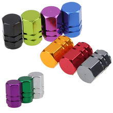 -20% OFF 4 Pieces Car Wheel Tyre Tire Valve Caps Stem Air Dust Cover Car Motorcycle Bike Universal Fit