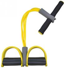 Dynamic Pedal Bodybuilding Expander Latex Tube Foot Elastic Pull Rope Slimming Indoor Sports Equipment