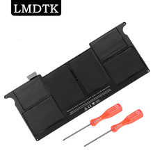 "LMDTK New laptop Battery for Apple MacBook Air 11""  A1465 2012  A1370 2011 production Replace A1406 battery Free shipping"