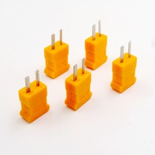 5 pcs K Type Male mini Connectors plug Thermocouple Temperature Sensors New(China)