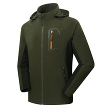 Mens Softshell Fishing Jackets Men Outdoor Sports Waterproof Thin Coats Male Hiking Trekking Brand Clothing VA023