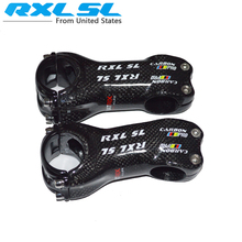 carbon stem bicycle stem road MTB Bike Stems RXL SL Bicycle Stand 6 /17 Degree 3K Gloss Black 70/80/90/100/110/120/130 JL8826