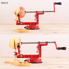 2017 3 in 1 apple peeler fruit peeler slicing machine stainless steel apple fruit machine peeled tool Apple Corers Home Kitchen(China)